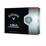 Callaway HEX Chrome+ Golf ball.
