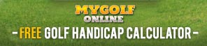 MyGolfOnline Free Golf handicap Calculator
