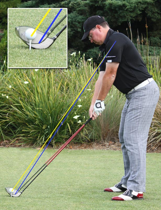 Setting up to allow for impact to happen correctly will lead to better ball striking